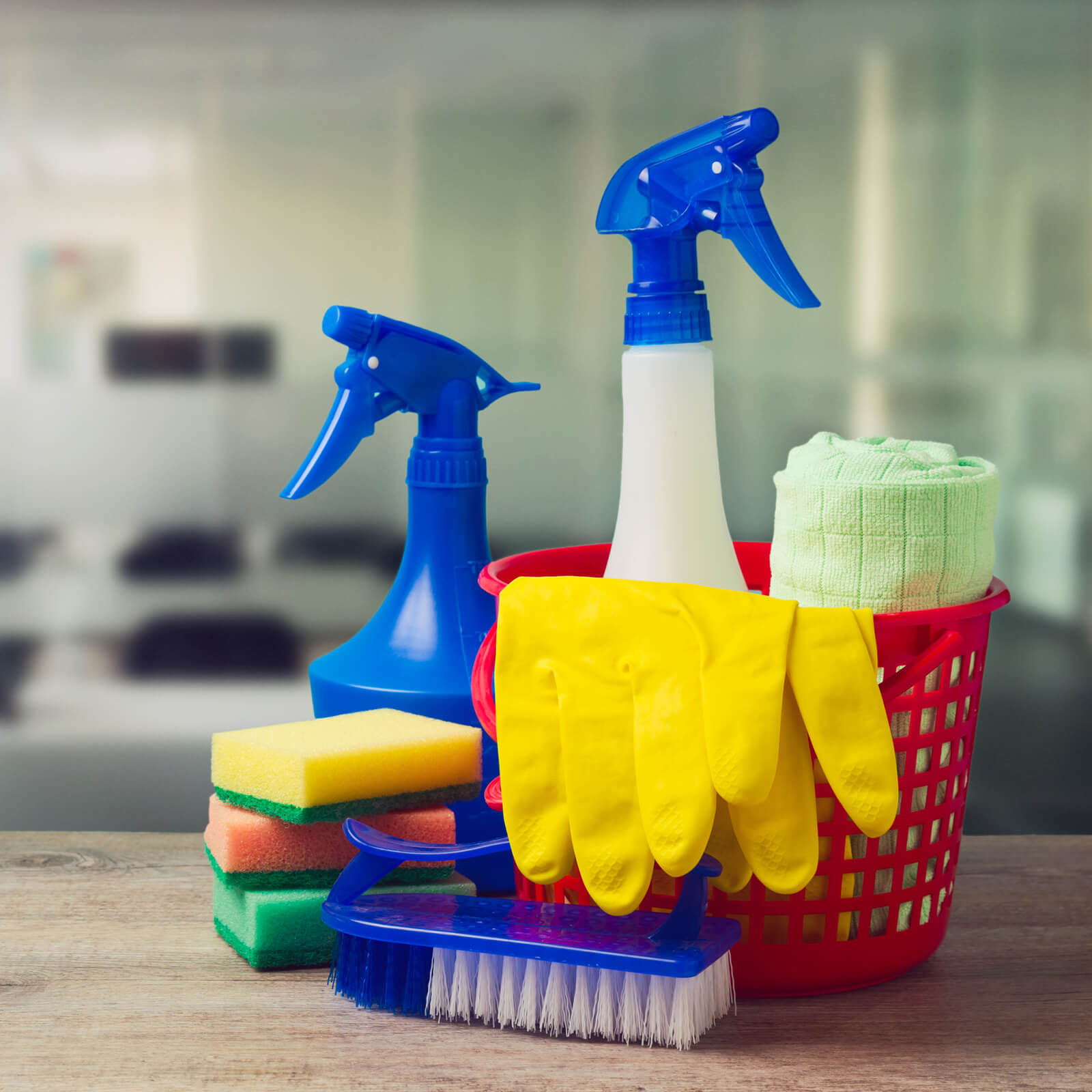 Cleaning supplies   Chesapeake Family Floors