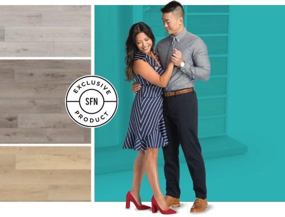Colorwall banner | Chesapeake Family Floors